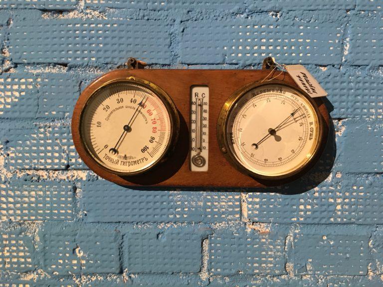 Барометр-гигрометр