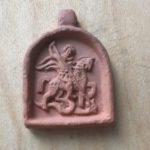 Основатель нашей РОО ЭКО СЛОБОДА Григорий Михайлович Стриженов подарил этот глиняный образок своему другу Олегу Фочкину