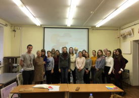 Состоялась презентация проекта для студентов МИИГАиК
