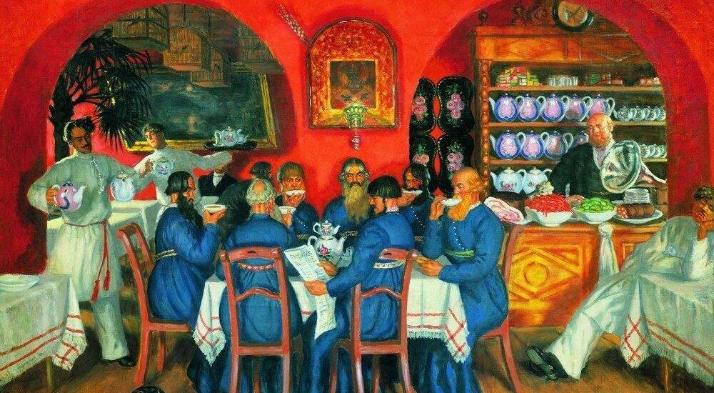Чаепромышленники Высоцкие