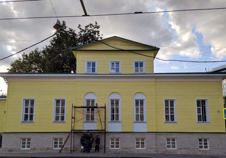 Усадьба А.Л. Демидова в Басманном