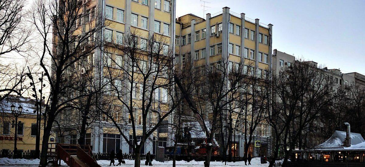 Авангард в Басманном районе: кооперативные дома вокруг Покровки