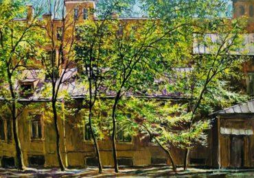 Город и художник: Москва в картинах Владимира Качанова